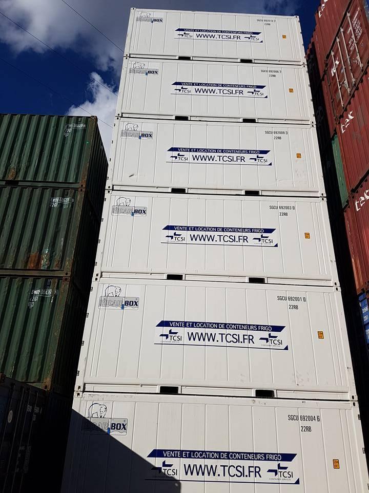 Conteneur frigorifique vente et location de containers for Fabricant conteneur