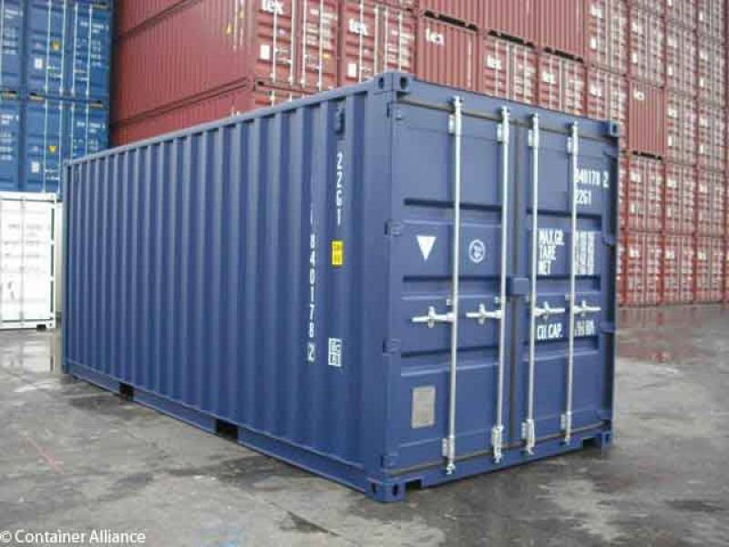 container maritime 20 pieds