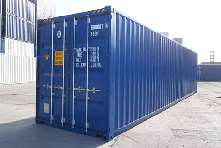 container 40 pieds High Cube, Le Havre